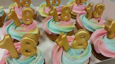 Unicorn cupcakes 18e