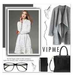 """""""# I/10 Vipme"""" by lucky-1990 ❤ liked on Polyvore featuring Chicwish, H&M, women's clothing, women, female, woman, misses, juniors and vipme"""
