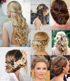 wedding hair styles inspiration for long hair | ohangie