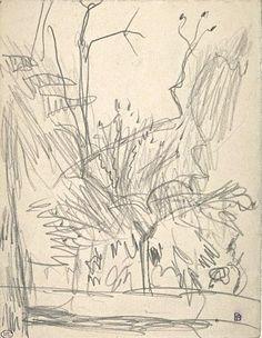 Pierre Bonnard, Garden Corner