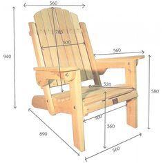 Free adirondack chair plans printable download supplies for adirondack chair 60 1 1 2 deck - Plan de chaise adirondack gratuit ...