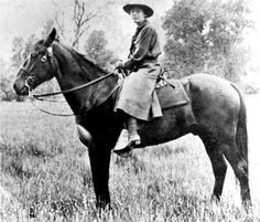 "Clare Marie Hodges, the first female ranger in Yosemite National Park. ""Clare began teaching in the Yosemite Valley School in 1916. During World War I, Hodges heard about the difficulty the park was having finding men to work as rangers due to the demands of the war. In the spring of 1918, she applied to the superintendent, Washington B. Lewis, and said, ""Probably you'll laugh at me, but I want to be a ranger."""