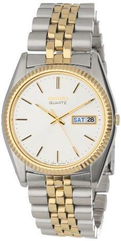 Seiko Men's SGF204 Two-Tone Watch - http://www.specialdaysgift.com/seiko-mens-sgf204-two-tone-watch/