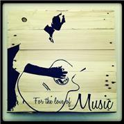 Music Pallet Art. 50cmx50cm or 1mx1m
