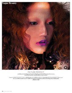 'Beauty' Varitsara Yu & Helena Luchenok by Nat Prakobsantisuk for Vogue Thailand August 2014 [Editorial] - Fashion Copious