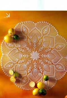 #25_CITRON Doily (part 1 of 3 pins for this doily)
