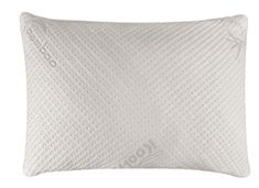 Snuggle-Pedic Ultra-Luxury Bamboo Shredded Memory Foam Pillow Combination With Adjustable Fit and Zipper Look Good Feel Good, Foam Pillows, Snuggles, Memory Foam, Bamboo, Zipper, Luxury, Fit, Shape