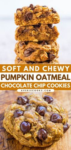 So much to love about this easy dessert idea! Not only are these pumpkin oatmeal cookies thick and hearty, soft and chewy, but they are also loaded with chocolate chips. Plus, you can add other…