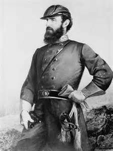 """Thomas """"Stonewall"""" Jackson's body is buried in Lexington, Va. But his left arm is buried more than 100 miles away in Chancellorsville, Va., where the limb was amputated after a Civil War battle in American Civil War, American History, Stonewall Jackson, Jackson's Art, Southern Heritage, Today In History, Civil War Photos, Black And White Portraits, Military History"""