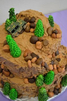 birthday cake for jase....jeeping cake