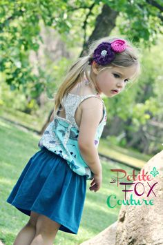 The Butterfly Bubble Tank CUSTOM by PetiteFoxCouture, $48.00