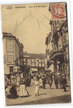 Belgium Charleroi rue de la montagne 1918, €5.00