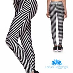 CRAZY STRIPES ATHLETIC LEGGINGS – Lotus Leggings