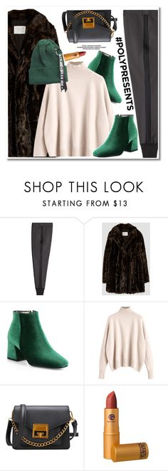"""""""#PolyPresents: Fancy Pants"""" by paculi ❤ liked on Polyvore featuring 3.1 Phillip Lim, Lipstick Queen, contestentry and polyPresents"""