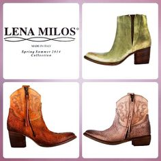 LENA MILOS vintage boots from ss14 collection BEST SELLER #lenamilos #boots #vintage #shoes #moda #footwear #collection #brand #summer #women #fashion #womenfashion #fashioblogger