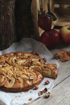 Gâteau d'automne aux pommes & sirop d'érable