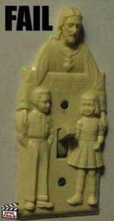 Jésus aime les enfants... ça se vois non