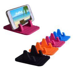 1.83$ - Car Holder Anti-Slip Mat Mount Desktop Stand Bracket For iphone Cell Phone GPS #UnbrandedGeneric