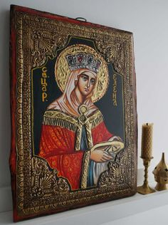 Saint Helena hand-painted Byzantine icon About our icons BlessedMart offers hand-painted religious icons that follow the Russian, Greek, Byzantine and Roman Catholic traditions. We partner with some of the most experienced iconographers in the country. Artists with more than 20 years of experience in modern iconography. Each and every icon that we sell in our online store