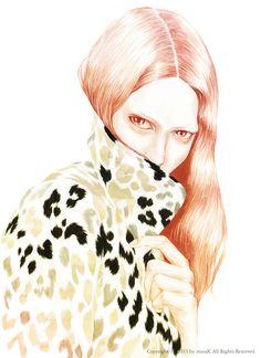 Modeconnect.com - Fashion Illustration by Mina K