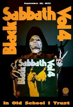 Black Sabbath Vol 4 Album Cover