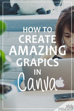 The visual representation of your business and blog is a big deal, it needs to be appealing. Here's a tutorial on how to create amazing graphics using Canva