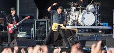 Bruce Springsteen at Hard Rock Calling 2013. #hrcalling #theboss