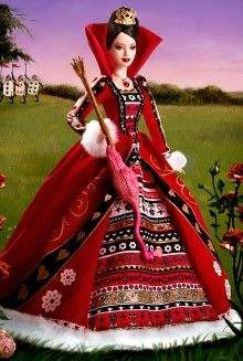 Queen of Hearts Barbie® Doll Pop Culture Dolls - View Collectible Barbie Dolls From Pop Culture Collections | Barbie Collector