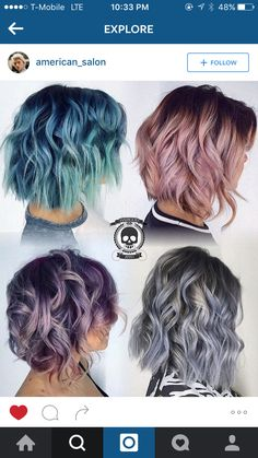 Love the Grey and Lavender ones on bottom