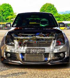 Suzuki Swift Tuning, Suzuki Swift Sport, Car Pictures, Car Pics, Modified Cars, Amazing Cars, Custom Cars, Jdm, Samurai