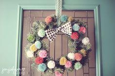 Cute Christmas DIY wreath!