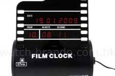 Looking for a Novelty Clock? Check out the Roll Film Clock