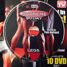 """LEGS.  **Supreme 90Day System, """"Get Ripped in 90Days!"""" Compartment Syndrome, Workout Calendar, Get Ripped, Dvd Set, High Risk, Nutrition Guide, See On Tv, Heart Disease, Adolescence"""