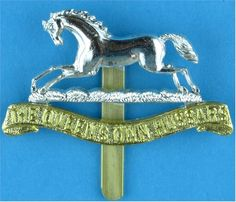 Queen's Own Hussars Staybrite army cap badge British Uniforms, Army Hat, British Armed Forces, Military Insignia, British Army, Commonwealth, Badges, Empire, Tattoo Designs