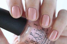 OPI New Orleans Humidi-Tea Rose Nude Pink Shimmer Nail Polish - Summer Nails