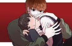 Lookism Webtoon, Webtoon Comics, Japon Illustration, Hisoka, Ship Art, Manhwa Manga, Jimin, Fan Art, Cute