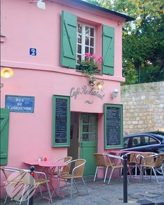 Paris Cafe Montmartre