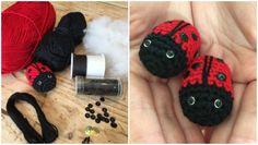 crochet backpack: Ladybird Ladybug Backpack on the LoveCrochet blog