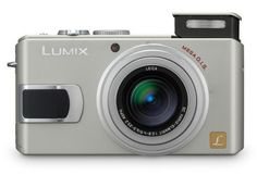 Panasonic Lumix DMC-LX1S 8MP Digital Camera with 4x Image Stabilized Optical Zoom (Silver)