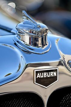 1929 Auburn 8-90 Speedster Hood Ornament Photograph by Jill Reger -