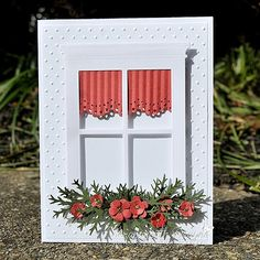 Christmas Window by Scrappycath - Cards and Paper Crafts at Splitcoaststampers by bethany