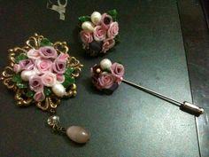 Set ungu--clay accessories