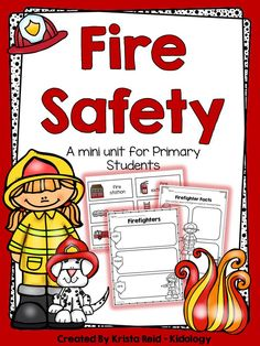 Fire Safety Math and Literacy Activities and Printables! $