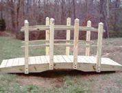 how to build a garden bridge wood plans