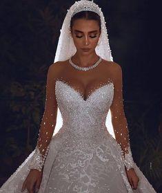 Cute Wedding Dress, Wedding Dress Trends, Princess Wedding Dresses, Dream Wedding Dresses, Wedding Gowns, Bouquet Wedding, Wedding Nails, Perfect Wedding, Princess Bridal