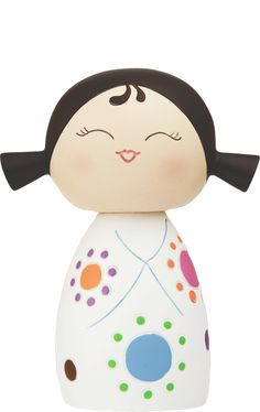 MOMIJI Doll GIGGLES  by Lili Bunny resin figure asian Secret Message