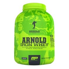 I'm learning all about MusclePharm Arnold Schwarzenegger Series Iron Whey Chocolate at @Influenster!