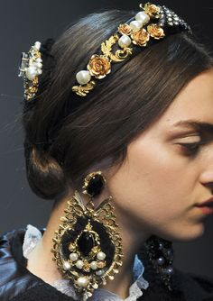 Dolce and Gabbana Autumn/Winter 2012.