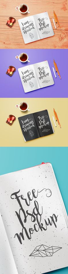 You've seen a very nice Classic Notebook PSD MockUp that allows you to showcase your sketches, drawings, doodles and typographic artworks in a realistic beautiful setting. With the smart object includes, you can make channges according to your liking within minutes.  Don't hesitate to download it for free and add to your freebie collection right now!