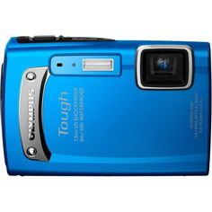 Good price Olympus TG-310 Tough 14.0 MP Digital Camera with 3.6x Wide Optical Zoom and 2.7-Inch LCD, (Blue).